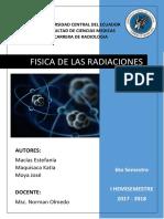 Grupo 2 - Física de Radiaciones