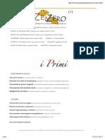 I Primi - Bio Restorant Zenzero