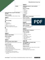 Interchange4thEd Level1 Writing Worksheets AnswerKey