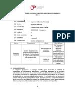 Operaciones Unitarias y Procesos Industriales