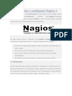 CONFIGURAR NAGIOS 3