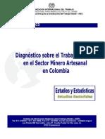 Diagnóstico sobre el trabajo infantil en el sector minero artesanal en Colombia