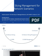5G Network Slicing Management for Challenged Network Scenarios