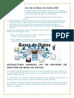 El Entorno de La Base de Datos