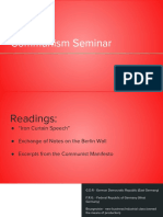Communism Seminar