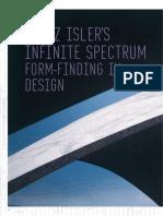 Heinz Isler s Infinite Spectrum Form Finding in Design
