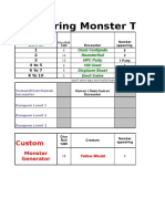 Classic D&D Random Encounter Table & Tres Gen Compiled Edition