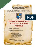 Informe de Lab de Quimica n 05 Alcoholes Terminado