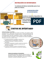 Tipos y Costos de Inventarios