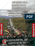 Libro Nº 48 La Represion de La Marcha Por La Sobrevivencia (ITEI) MINISTERIO DE TRABAJO BOLIVIA