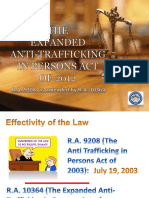 RA 9208 as Amended by RA 10364