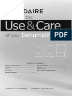 Frigidaire Dehumidifier