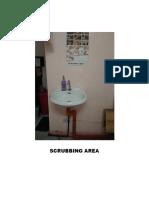 Scrubbing Area