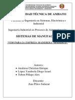 informe manufactura VSM