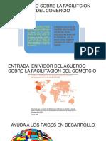 Acuerdo Sobre La Facilitcion Del Comercio