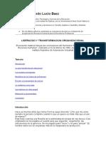 Liderazgo y Transformación Organizacional