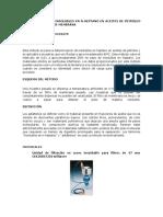 Metodo Adaptado Para Insolubles D3279 y UOP614