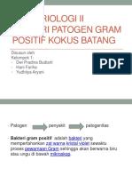 PPT Bakteri Patogen Gram +