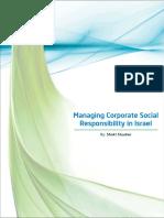 9.Managing Corporate Social Responsibility in Israel