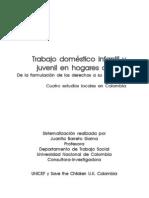 Trabajo doméstico infantil y juvenil en hogares ajenos