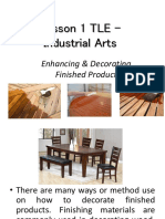TLE Lessons for Grade VI Industrial Arts