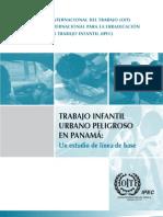 Trabajo infantil urbano peligroso en Panamá