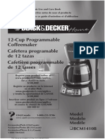 Black & Decker BCM1410B Manual