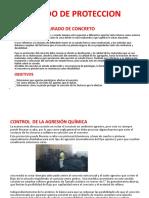 ESTADO de PROTECCION-control de La Agrecion Quimica
