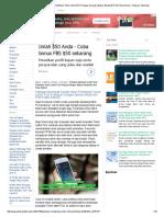 Panduan Membuat Sendiri Struk Pembelian Token Listrik PLN Prabayar Dengan Aplikasi Bluetooth Print Pada Android - Antusias Teknologi