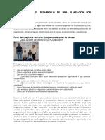 Proceso Para El Desarrollo de Una Planeación Por Competencias