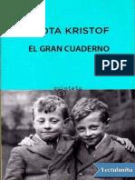 El gran cuaderno - Agota Kristof.epub