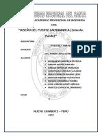Puente Lacramarca Zona Pardo III Unidad