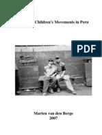 Working Children's Movements in Peru