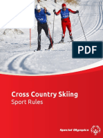 Cross Country Skiing Sports Rules