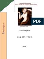 [Essais Philosophiques] Vignoles P. La Perversite 1988