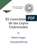 Rafael Vargas El Conocimiento de Las Leyes Universales