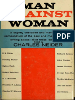 Man Against Woman a Vade Mecum for the Weaker Sex, and a Caution to Women, By Charles Neider