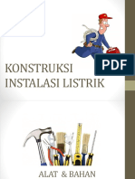 Jenis-jenis Lampu, Stop Kontak Dan Fuse Box(Panel