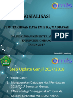 Materi Update Data Emis 1718