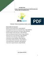 Informe Final Artesanos