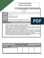 Plan de Evaluacion Matematicas 3A Bloque 3