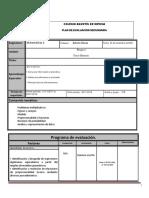 Plan de Evaluacion Matematicas 2B Bloque 3