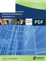 Queensland Government Enterprise Architecture Framework 2 0 v 1 0 0