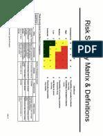 Risk Severity Matrix-V1