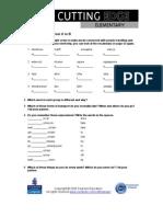 CE Elementary Module 05 Web Worksheet