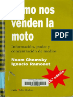 Cómo Nos Venden La Moto (Chomsky y Ramonet)