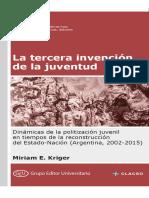 Miriam Krigger- La Tercera Invención de La Juventud