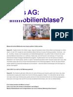 Siegfried Nehls . Immobilienblase