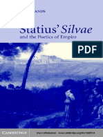 [Carole E. Newlands] Statius' Silvae and the Poeti(