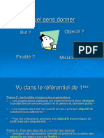 Finalite Mission but Objectif